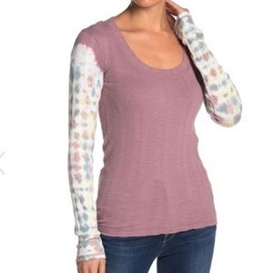 NWT Free People Big Sur Long Sleeve T-Shirt